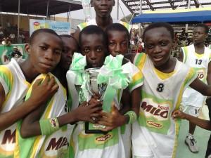 gallery HCI U14 boys win Milo Junior Ball 2010