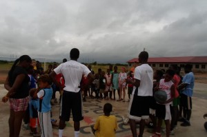 gallery Successful Basketball Camp for Former Child Slaves