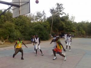 gallery HCI defeats Takoradi Youth Basketball Team