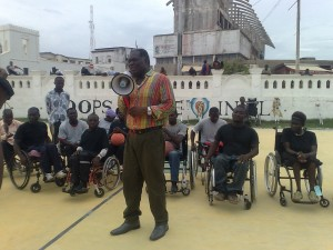gallery Cape Coast MP Donates Wheelchairs for Physically Challenged Athletes