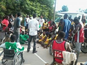 gallery Wheelchair Basketball Action in Sunyani!!!!!!!!!!
